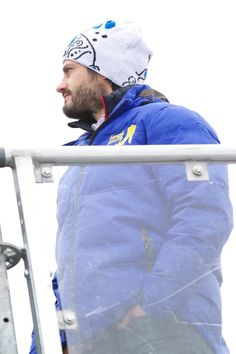 Pin for Later: Meet Prince Carl Philip of Sweden, Your Real-Life Prince Charming  Prince Carl bundled up for the FIS Nordic World Ski Championship in Sweden in March 2015.