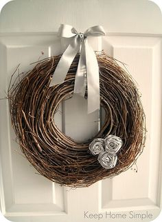 So many wreaths to choose from and make, which one will make the cut?