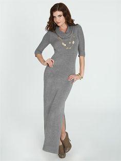 Charlotte Ronson Maxi Sweater Dress $110 | Dresses | Pinterest ...