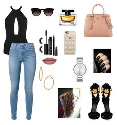 """""""Sem título #695"""" by sr-magcult-bieber-gomez ❤ liked on Polyvore featuring Giuseppe Zanotti, Miss Selfridge, Prada, Ray-Ban, Casetify, Marc Jacobs, NARS Cosmetics, Dolce&Gabbana, Marc by Marc Jacobs and Bony Levy"""