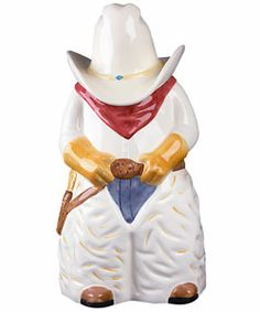 Cowboy cookie jar |from my collection SD