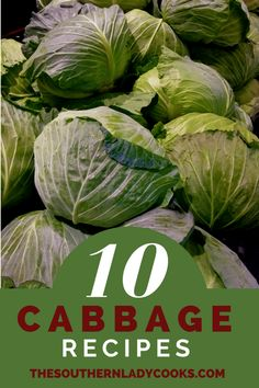 Here are some of our best cabbage recipes. We love cabbage at our house. You'll find recipes below that use cabbage in skillet meals, casseroles, slow cookers and soups. Here is are some cabbage recipes that are our favorites! Best Cabbage Recipe, Crockpot Cabbage Recipes, Fried Cabbage Recipes, Corn Beef And Cabbage, Green Cabbage, How To Cook Cabbage, Cabbage Meals, Crock Pot Corned Beef, Cabbage Roll Casserole
