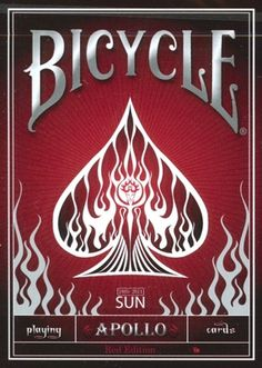 Bicycle Apollo Deck Red - Strictly Ltd Edition