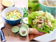 Shrimp Coconut Lettuce Thingies | by Sonia! The Healthy Foodie