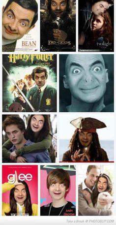 Mr. Bean! LOLOLOLOL!