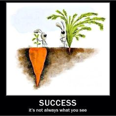 #Inspirational #Quote: Success is not always what it seems!  ציטוט השראה: הצלחה היא לא תמיד כפי שהיא נראית לעין
