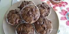 Chocolate zucchini banana muffins. Made these, they rock. Super dense, almost brownie like.