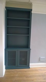 Information About DIY Fitted / Built-in Alcove Unit / Cabinet / Cupboard / Bookshelves .Information About DIY Fitted / Built-in Alcove Unit / Cabinet / Cupboard / Bookshelves in MDF Pin You can easily use Living Room Cupboards, Dresser In Living Room, Built In Shelves Living Room, Room Shelves, New Living Room, Living Room Furniture, Kitchen Furniture, Alcove Storage, Alcove Shelving
