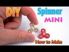 Bricolaje en miniatura girador sin rodamientos | DollHouse | ¡No hay arcilla de polímero! - YouTube