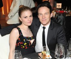 Stephen and Anna at the Elton John AIDS Foundation (EJAF) 22nd annual Academy Awards Viewing Party March 2, 2014