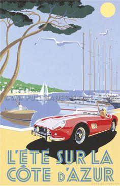 1959 Ferrari 250 GT California Spider - Côte d'Azur