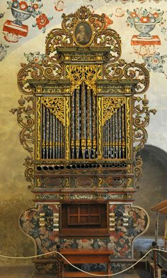 https://flic.kr/p/c2YZnS | Organo Tlacochahuaya Organ | The magnificent 18th century organ in the church of San Jeronimo Tlacochahuaya, Oaxaca, Mexico