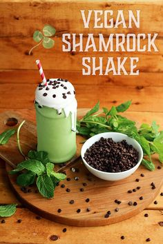 #Vegan Shamrock Shake  #glutenfree | I Love Vegan