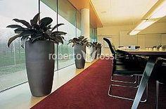 Anthracite ceramic pots Ceramic Pots, Plant Growth, Relax, Interior, Design, Ceramic Jars, Indoor, Interiors