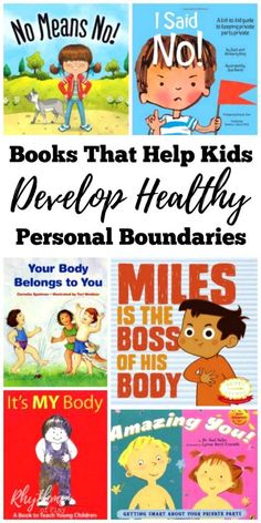parents, teachers, counselors, and caregivers, we need to help our children develop body boundaries. These books that help teach healthy body boundaries for preschoolers and up will help your child learn about good touch and bad touch. Personal Boundaries, Bad Touch, Preschool Books, Preschool Kindergarten, Tips & Tricks, Help Teaching, Kids Reading, Reading Books, Reading Programs For Kids
