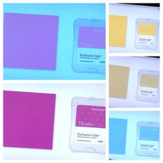 5 New Colors for CTMH in 2014 www.fancymelissa.com #flaxen #thistle #canary #glacier #pixie #whimsy #scrapbook