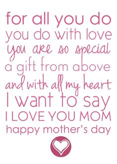 Happy Mothers Day Quotes : QUOTATION – Image : As the quote says – Description free printable mothers day place mats Niece Quotes, Mom Poems, Mother Poems, Daughter Quotes, Mother Quotes, Mom Quotes, Child Quotes, Family Quotes, Mother Gifts