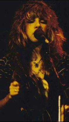 Stevie Nicks with Fleetwood Mac