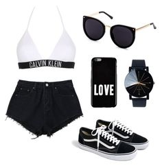 A fashion look from July 2017 featuring short denim shorts, triangle swim suits and cateye sunglasses. Browse and shop related looks. Teenager Outfits, Girl Outfits, Fashion Outfits, Womens Fashion, Trendy Outfits, Summer Outfits, Cute Outfits, My Outfit, Outfit Of The Day