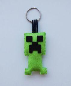 handmade Creeper  keychain http://www.ebay.com/itm/230881001998?ssPageName=STRK:MESELX:IT&_trksid=p3984.m1555.l2649