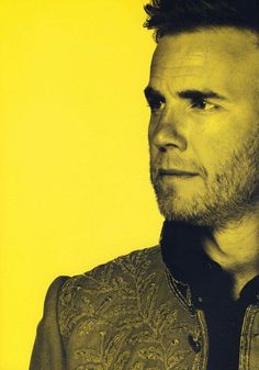 Gary Barlow <3 This man is simply brilliant!! I just love him! His music always makes my day!