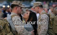 Dating your hero.