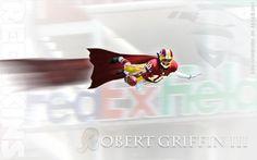 RGIII Superman Wallpaper - 1280x800 wallpaper on the blog