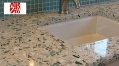 Recycled Glass Countertops   Google Search