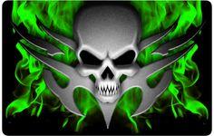 Cool Skull | Cool Green Skull Wallpapers