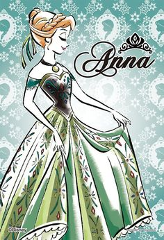 Day 2: Favorite Princess - Anna. OK, I'm a fellow redhead, and I love Anna's personality. She is just so awesome in Frozen and she has great outfits.