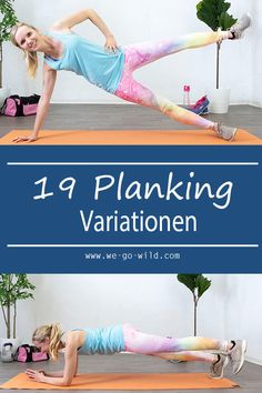 The best plank exercises for women! Planking fitness exercises for bodyweight training The best plank exercises for women! Planking fitness exercises for bodyweight training Pilates Workout Routine, Pilates Training, Fitness Workouts, Fitness Motivation, Training Fitness, Insanity Workout, Body Weight Training, Best Cardio Workout, Plank Workout
