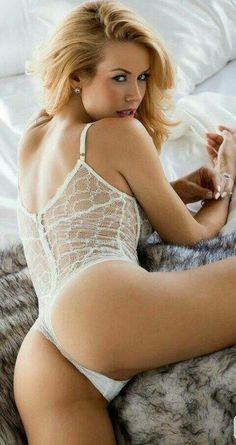 White lingerie tgp