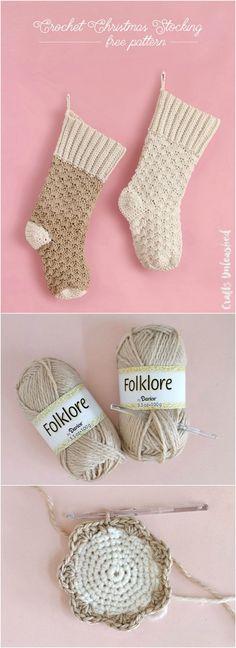 Free Crochet Stocking Pattern