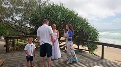 The lookout at Ballinger Beach/ Currimundi Beach at the end of Buderim Street Currimundi. Great for an elopement or small wedding. Very private and amazing view across the ocean and beach. Gorgeous.  Suzanne Riley Marriage Celebrant Sunshine Coast www.suzanneriley.com.au
