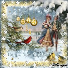 Vintage ~ Happy New Year