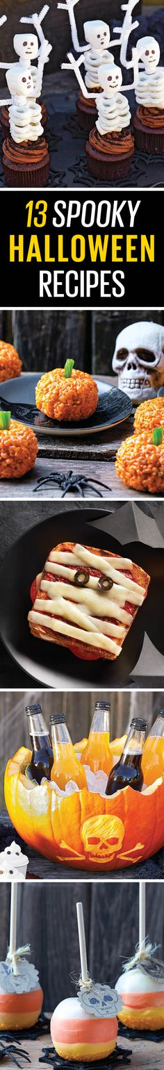 Boo-tifully delicious recipes, perfect for your Halloween party.