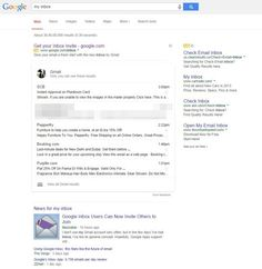 Gmail Messages Now Showing Up In Google Searches #gmail #googleinbox