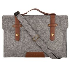 Mosiso 12.9 iPad Pro / 13.3 Inch MacBook Air / MacBook Pro Retina Felt Shoulder Bag Briefcase Laptop Bag Tablet PC Carrying Case, Compatible with Most 11-Inch Ultrabook Netbook, Gray Mosiso http://smile.amazon.com/dp/B00V2RLZPY/ref=cm_sw_r_pi_dp_i3gbxb03416TA