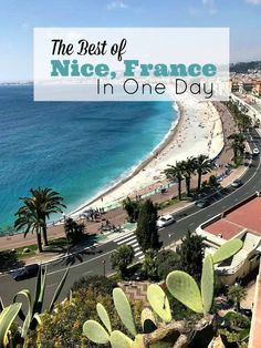 Nice, France is the perfect spot to experience the French Riviera lifestyle.  As the 5th largest city in France, it has the small city charm but with big city amenities. If you only have one day, you'll be able to explore a great deal of the Nice, France Attractions.