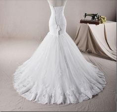 Free Shipping 2014 New Gorgeous Strapless by Roseweddingdress, $249.00