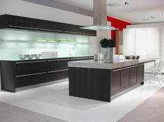 Artistic Strategy For Modern Day Large Wenge Kitchen Layout Inspiration X With Particular Decor - http://www.decorweddingideas.com/home-decoration/artistic-strategy-for-modern-day-large-wenge-kitchen-layout-inspiration-x-with-particular-decor.html