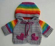 Casaquinho trico baby