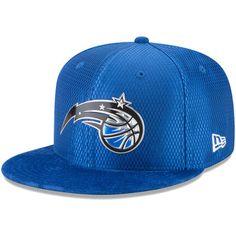 Orlando Magic New Era NBA On-Court Original Fit 9FIFTY Adjustable Hat - Blue 58aef61abb5