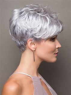 pixie haircut for round faces;pixie haircut for thick hair;pixie haircut for long hair;pixie haircut for black women;hairstyles for pixie hair; Pixie Haircut For Thick Hair, Messy Haircut, Haircut For Older Women, Short Pixie Haircuts, Short Hair Cuts For Women, Short Hair Back, Curly Pixie, Cute Hairstyles For Short Hair, Pixie Hairstyles