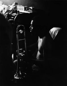 Grachan Moncur III by Frank Kofsky. ca. 1966. From the Frank Kofsky Archives
