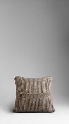 Burberry cashmere cushion