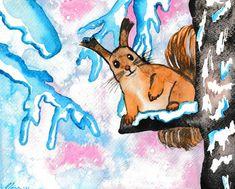 Winter Squirrel - Fairychamber