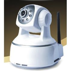 Wifi H264 IP Camera with Pan & Tilt, Night Vision, 2 Way Audio on Apple Mac, Windows, @gmail compatible. SD Flash (Personal Computers)  http://www.postteenageliving.com/amazon.php?p=B002SQVW2E