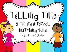 Telling Time FREE Printable Activity via NoodleNook.Net