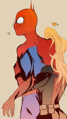 Spidey & Lady Deadpool